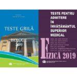 Set admitere UMF Carol Davila - Biologie+Fizica(ed.2019)