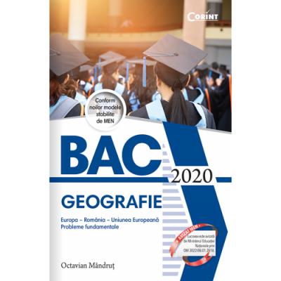 BAC 2020 - Geografie
