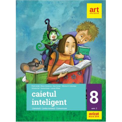 Caietul inteligent-Clasa VIII partea II