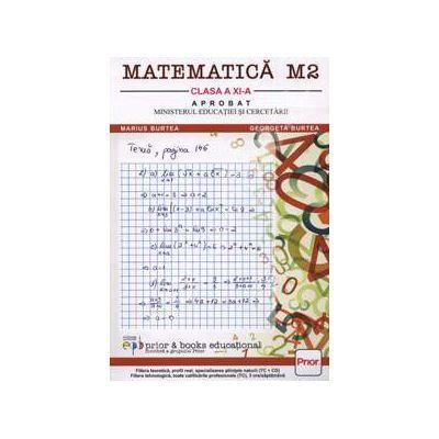 Matematica M2-Manual pentru clasa XI