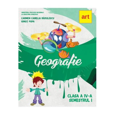 Geografie-Manual pentru clasa IV(sem. I+II)
