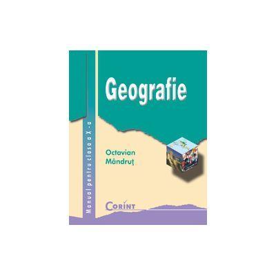 Geografie-Manual pentru clasa X