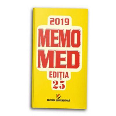 MemoMed 2019 + Ghid Farmacoterapic Alopat si Homeopat-Dumitru Dobrescu
