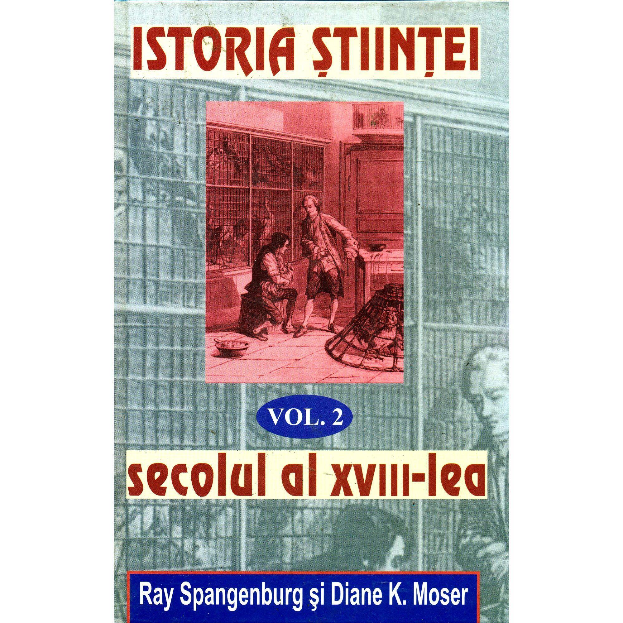 Istoria stiintei vol. 2|Secolul al XVIII-lea