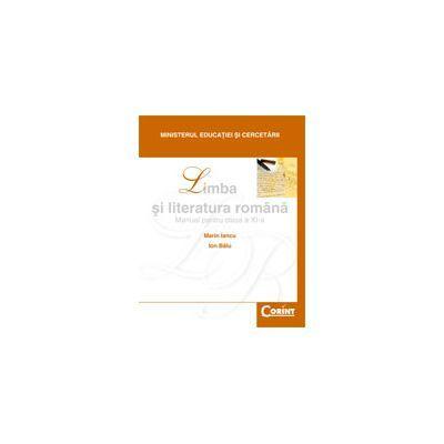 Limba si literatura romana-Manual pentru clasa XI