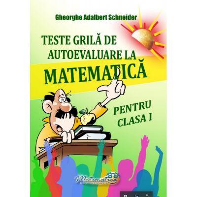 Teste grila de autoevaluare - Matematica clasa I