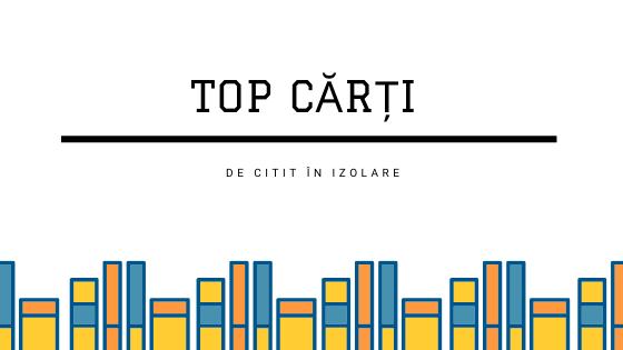 Top Cărti de citit în izolare - de la Librarus