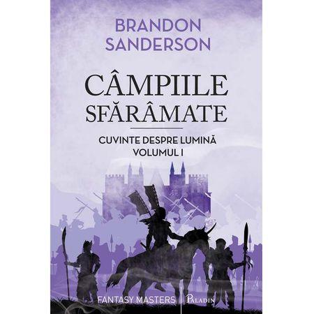 Campiile sfarmate | Cuvinte despre lumina (vol.1) - Brandon Sanderson