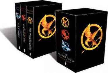 The Hunger Games (Trilogy) - Suzanne Collins