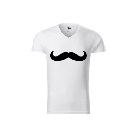 Tricou barbati - Model Moustache