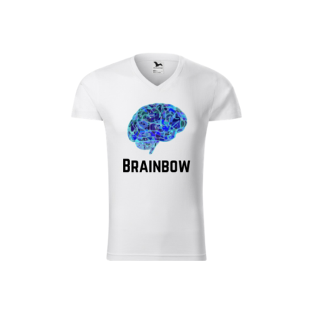 Tricou barbati - Model Brainbow