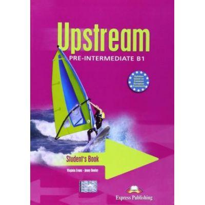 Upstream Pre-Intermediate - Manual pentru clasa VII